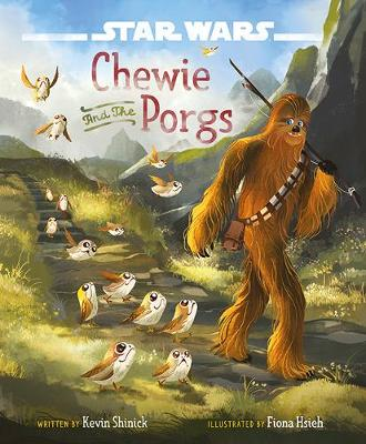 Chewie and the Porgs by Kevin Shinick