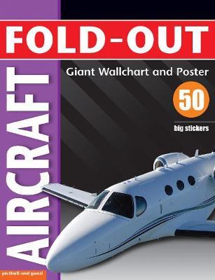 Fold-out Aircraft Sticker Book by Paul Calver
