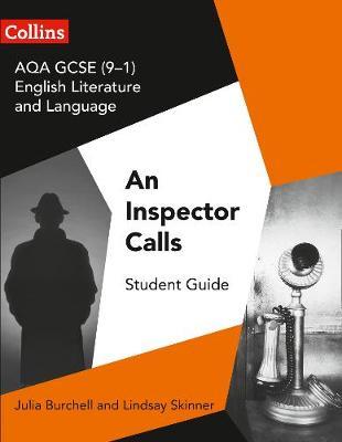 AQA GCSE English Literature and Language - An Inspector Calls book