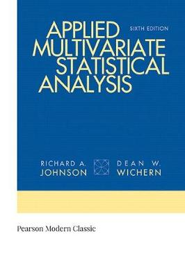 Applied Multivariate Statistical Analysis (Classic Version) book