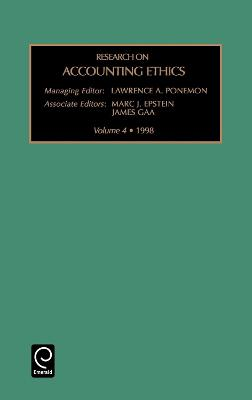Research on Accounting Ethics by Marc J. Epstein
