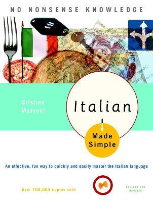 Italian Made Simple by Cristina Mazzoni