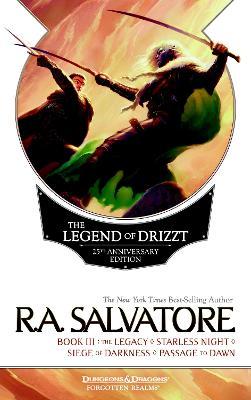 Legend Of Drizzt 25Th Anniversary Edition, Book Iii book
