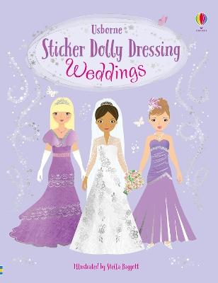 Sticker Dolly Dressing Weddings by Fiona Watt