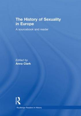 History of Sexuality in Europe book