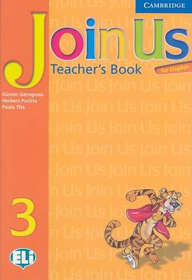 Join Us for English 3 Teacher's Book book