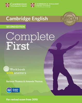 Complete: Complete First Workbook with Answers with Audio CD by Barbara Thomas