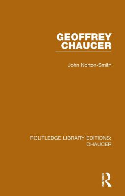 Geoffrey Chaucer by John Norton-Smith