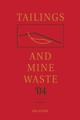 Tailings and Mine Waste book