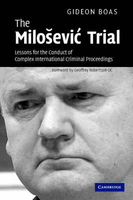 Milosevic Trial book