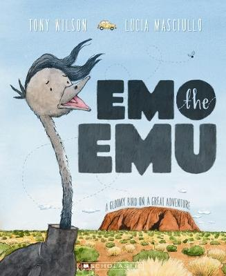 Emo the Emu book