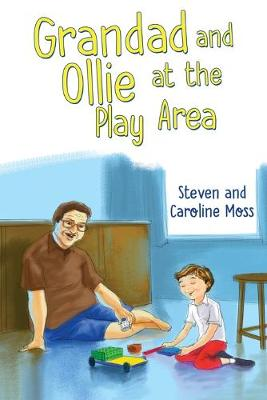 Grandad and Ollie at the Play Area by Caroline Moss