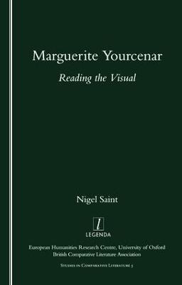 Marguerite Yourcenar by Nigel Saint