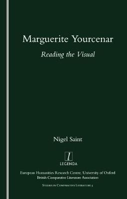 Marguerite Yourcenar by Nigel Saint