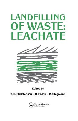 Landfilling of Waste v. 1 by T.H. Christensen