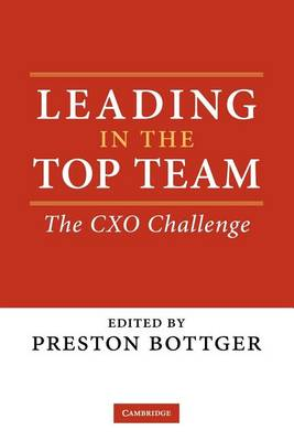 Leading in the Top Team by Preston Bottger