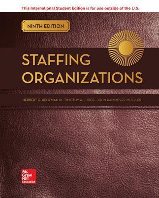 ISE Staffing Organizations by John Kammeyer-Mueller