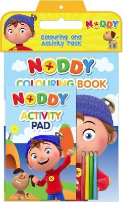 Noddy Toyland Detective Colouring and Activity Pack by DreamWorks: Noddy Toy Detective