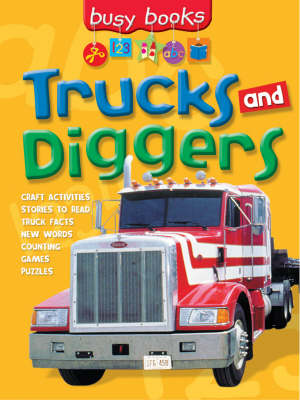 Trucks and Diggers by Gabby Goldsack