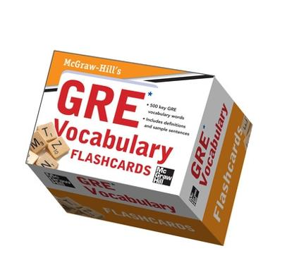 McGraw-Hill's GRE Vocabulary Flashcards by Steven Dulan