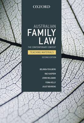Australian Family Law book