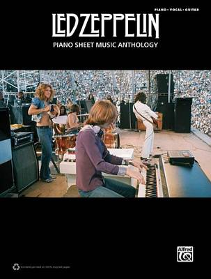 Led Zeppelin -- Piano Sheet Music Anthology by Led Zeppelin