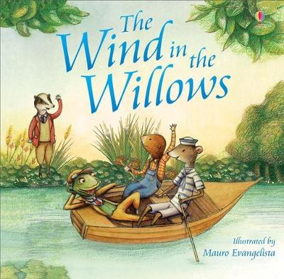 The Wind in the Willows picture book (new edition) by Lesley Sims