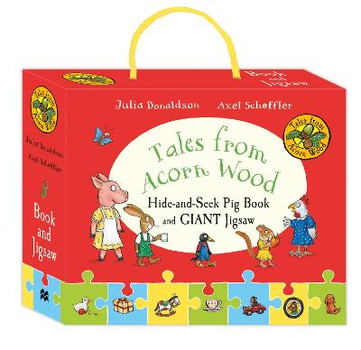 Tales from Acorn Wood: Hide-and-Seek Pig Book and Jigsaw Set by