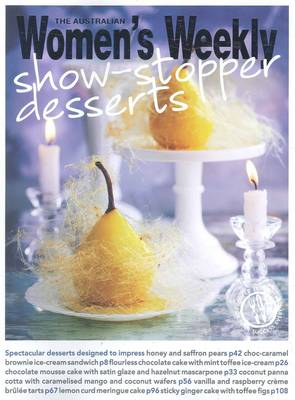 Show-stopper Desserts by Pamela Clark