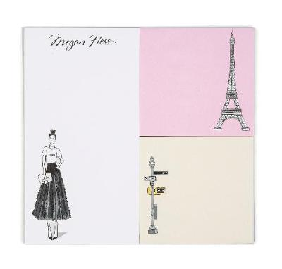 Megan Hess Memo Pad by Megan Hess