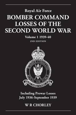 Royal Air Force Bomber Command Losses of the Second World War 1939-40 book