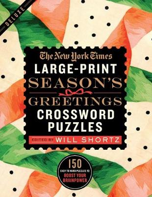 The New York Times Large-Print Season's Greetings Crossword Puzzles by The New York Times