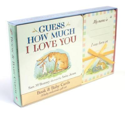 Guess How Much I Love You: Book & Baby Cards Milestone Moments Gift Set by Anita Jeram