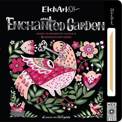 EtchArt: Enchanted Garden by Aj Wood