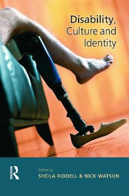Disability, Culture and Identity by Sheila Riddell