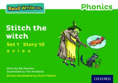 Read Write Inc. Phonics: Green Set 1 Storybook 10 Stitch the Witch book