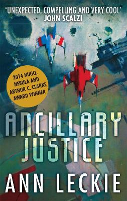 Ancillary Justice book