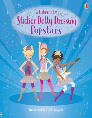 Sticker Dolly Dressing Popstars by Lucy Bowman