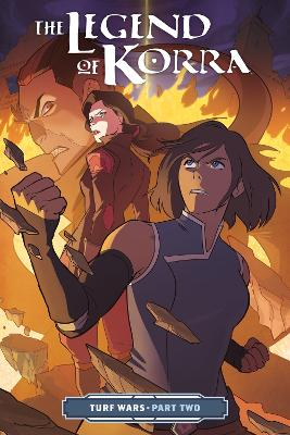 The Legend Of Korra: Turf Wars Part Two book