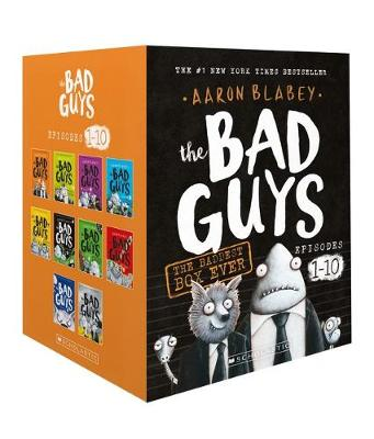 BAD GUYS 1-10 BOX SET book