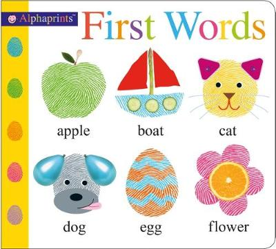 Alphaprints First Words book
