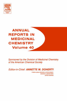 Annual Reports in Medicinal Chemistry book