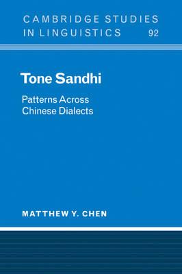 Tone Sandhi book