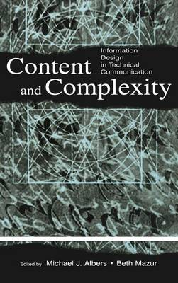 Content and Complexity by Michael J. Albers
