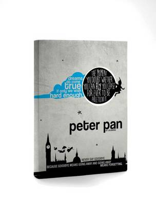 Peter Pan Hardcover Notebook by Sir J. M. Barrie