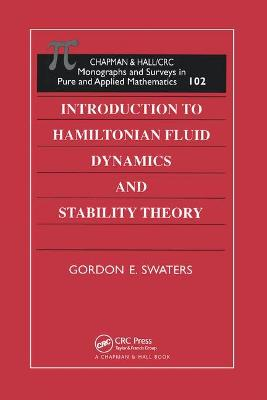 Introduction to Hamiltonian Fluid Dynamics and Stability Theory book