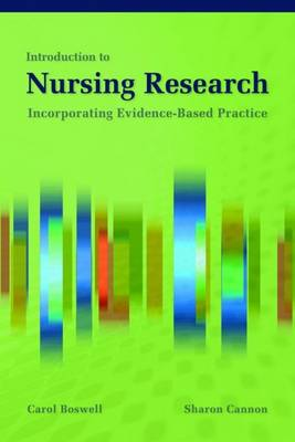 Introduction to Nursing Research by Carol Boswell