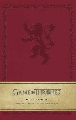 Game of Thrones: House Lannister Ruled Pocket Journal by Insight Editions