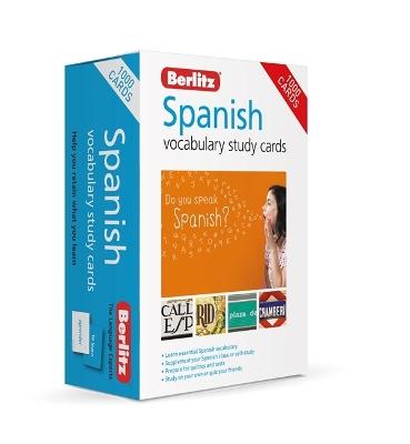 Berlitz Spanish Study Cards (Language Flash Cards) by Berlitz Publishing Company