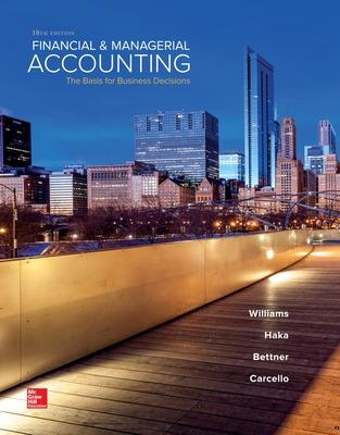 Financial & Managerial Accounting book